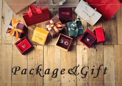 包装とギフト包装<br>Package & Gift