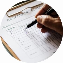 検品および公的機関による品質の確認