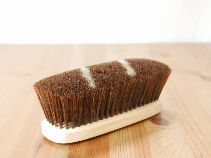 カシミア用ブラシ 馬毛ブラシ