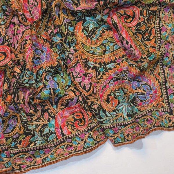 必見! 優れた品質のカシミール刺繍の3つの見分け方| パシュミナ