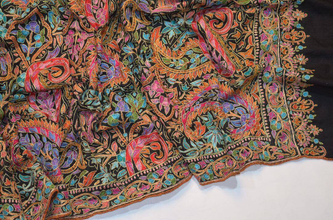 必見! 優れたカシミール刺繍の3つの見分け方| パシュミナ